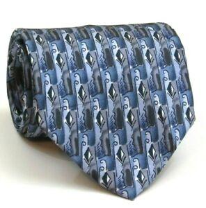 Jerry-Garcia-Tie-Mens-Silk-Tie-Multi-Color-Abstract-Pattern-59-034-Long-3-5-034-Wide