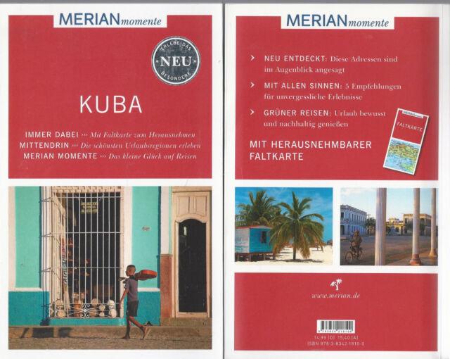 Kuba - WIE NEU - Merian momente - Mit Extra-Karte zum Herausnehmen