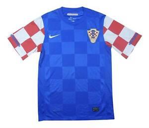 Croazia 2010-12 Authentic Away Shirt (eccellente) S Soccer Jersey