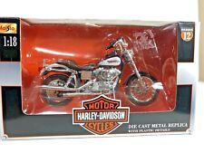 2002 Harley Davidson FXDL Dyna Low Rider 1:24 Maisto