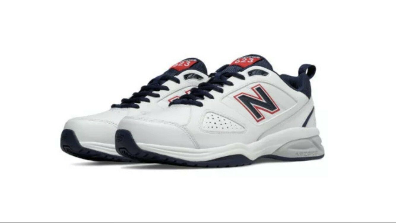 New Balance MX623US3 Trainer White Navy Men's shoes Size 10 D Medium