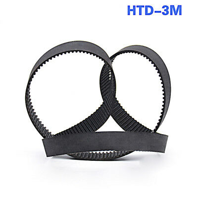 HTD 3M Closed Timing Belt 3mm pitch 10-15mm width CNC Drives 120mm to 495mm