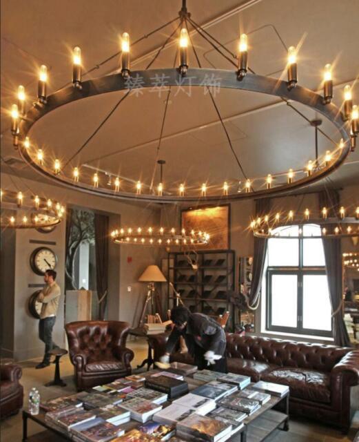 Lanros Sphere Foyer Lighting