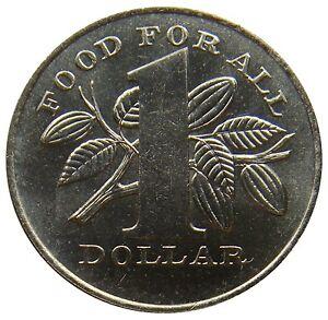 (e92) - Trinidad Und Tobago - 1 Dollar 1979 - Fao Kakaofrüchte - Unc - Km# 38
