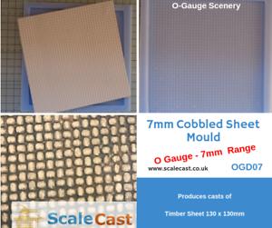 O-gauge-Model-Railway-COBBLE-STONE-Mould-7mm-Scale-OGD07-1-43-O-Scale