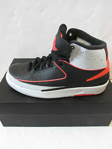 e71adfbe61 nike air jordan 2 retro BG hi top trainers 395718 023 sneakers shoes ...