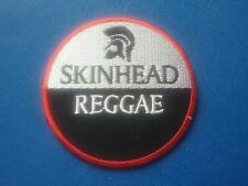 BOOTS AND BRACES A WAY OF LIFE RUDE BOY SKINHEAD MOD SKA SEW IRON ON PATCH: