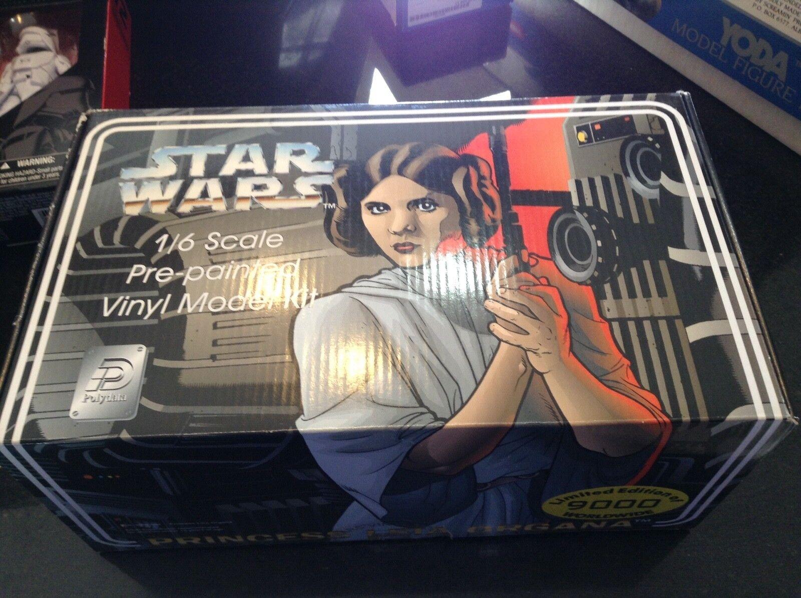 La princesa Leia Organa por PolyData, Limited 9000 Worldwide  Prepintado escala 1 6