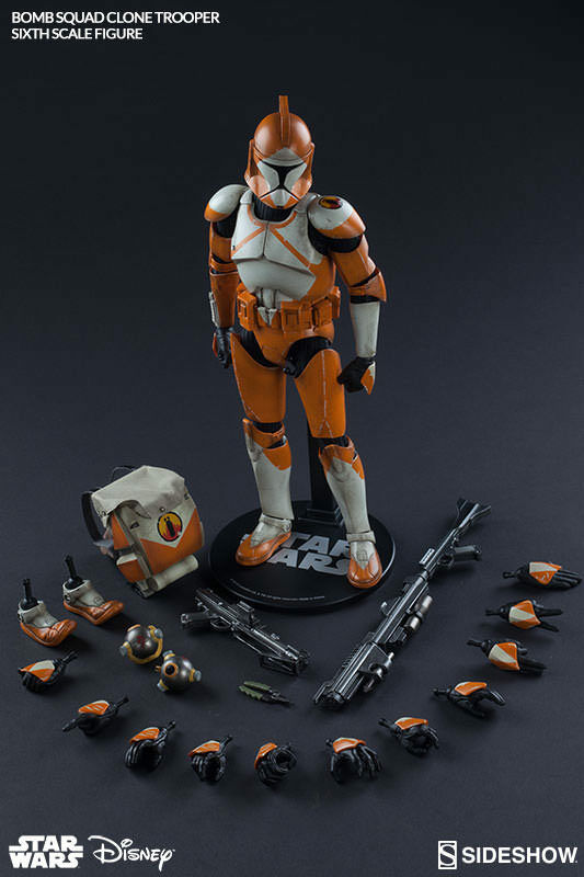 Militaries Of Star Wars 12 Inch Figure - Bomb Squad Clone Trooper Ordnance Spec