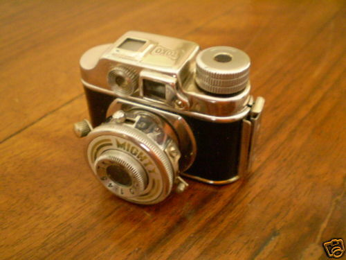 Aggressivo Mini Macchina Fotografica D'epoca Migthy Occupied Japan - Originale Smoothing Circulation And Stopping Pains