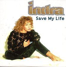 CD single INDRA Save my life 3-track CARD SLEEVE + RARE +