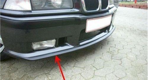M3 apron spoiler lip for BMW E36 M Sport bumper lower Valance splitter Chin trim