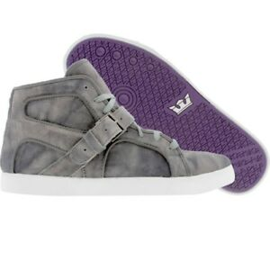 94f90b9cb10c  202.50  210 New Men Supra Trinity NS (grey tiedye) skateboard ...