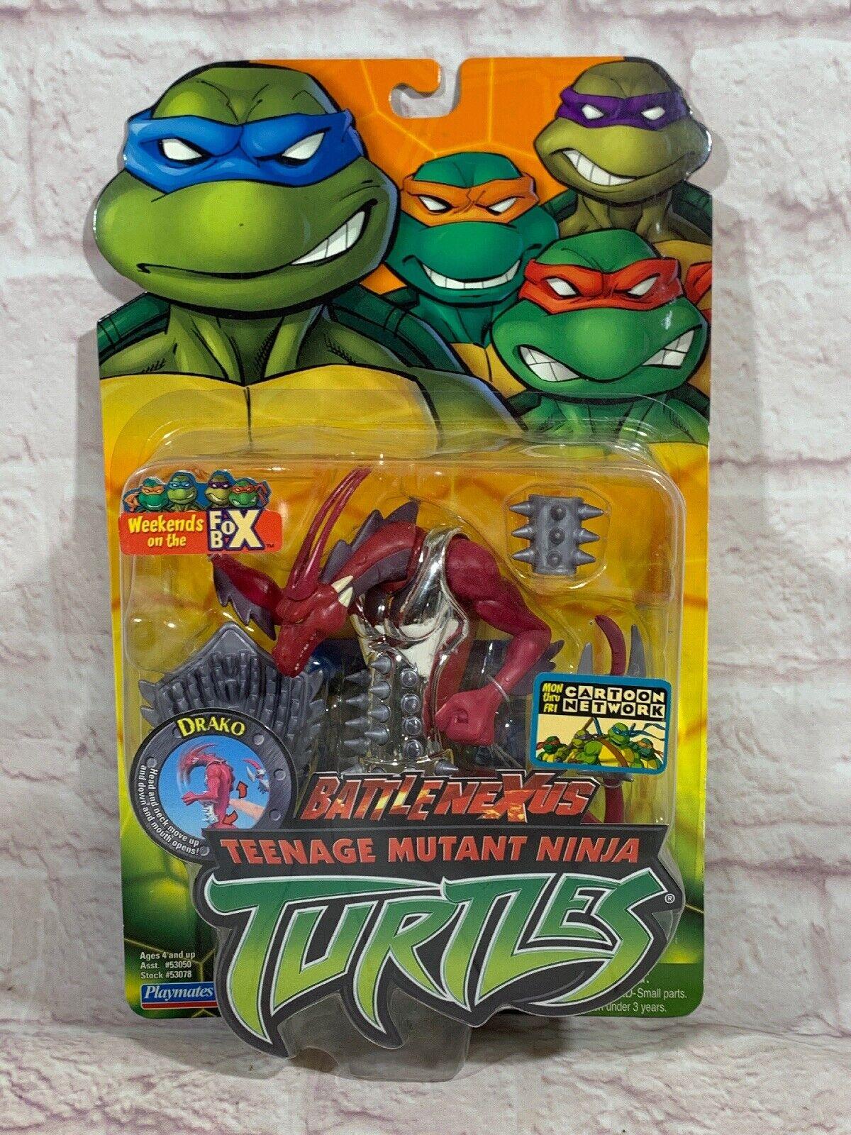 Teenage Mutant Ninja Turtles 2004 DRAKO TMNT Playmates Meerled On Mint voitured