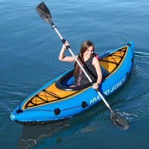 KAYAK Cove Champion aufblasbar bis 100kg  für eine Person inkl. Paddel und Pumpe
