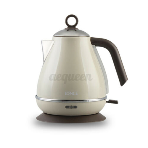 1.7L Electric Kettle Auto Shut Off Water Kettle Boiler 304 Stainless Steel