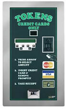 American Changer Ac2007 Credit Card Token Machine Rear Load