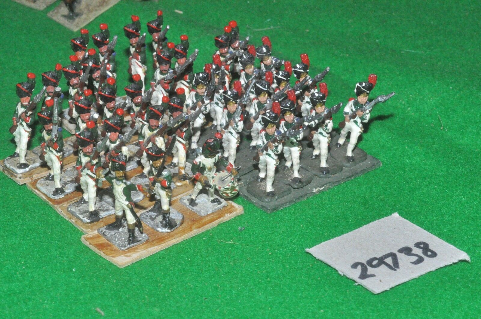 25mm napoleonic   french - 36 old guard - inf (29738)