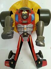 "TRANSFORMERS - Go Bots Dragster 12"" Action Figure Toy Hasbro Takara Hasbro 2003"