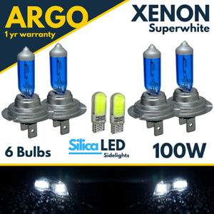For-Nissan-Qashqai-Headlight-Bulbs-Xenon-Led-White-Hid-Sidelight-Light-High-Low
