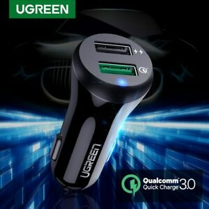 Ugreen-Car-Charger-Adapter-Quick-Charge-3-0-USB-Fast-Charger-for-iPhone-Samsung