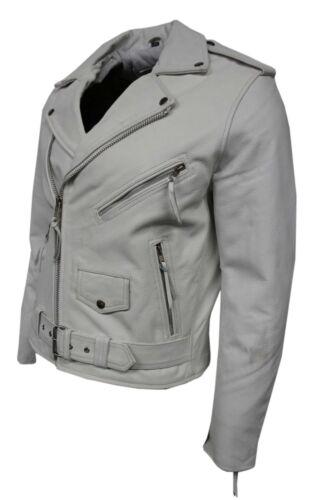 clásico de de cuero real Chaqueta hombres y cuero de Biker vacuno estilo lujosos de elegante para nuevos nRXF1BX