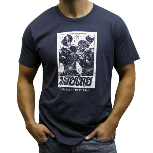 Superare Muay Thai Elbows 2.0 T-Shirt Blue
