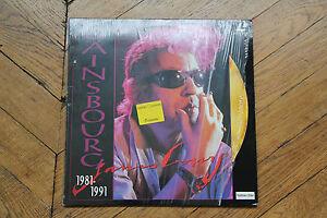 Laserdiscs-Livret-SERGE-GAINSBOURG-1981-1991-LD-Pal-Laser-Disc-CD-Video