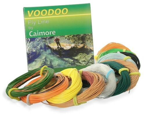 VOODOO fly lines-Weight Forward Naufrage /& Fast Sinking Options