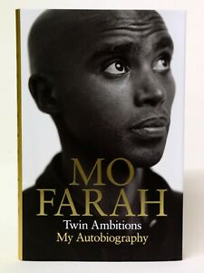 Mo Farah: Twin Ambitions - My Autobiography - SIGNED!
