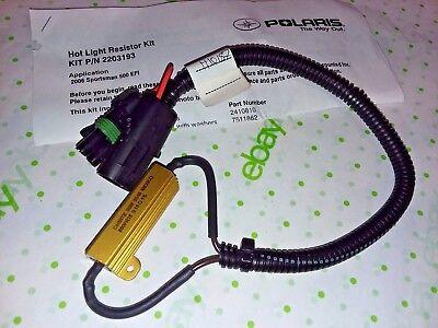 NEW POLARIS 2006 SPORTSMAN 500 EFI WIRING HARNESS HOT LIGHT