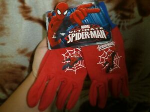 CLOSEOUT-SALE-Imported-FROM-USA-Spiderman-Kids-Gloves-1