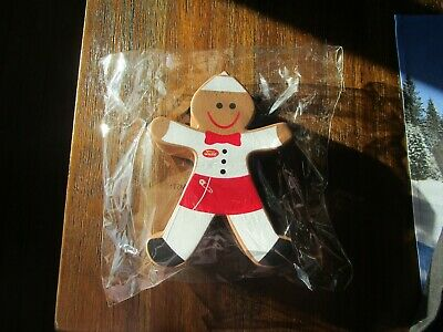 New In N Out Burger  Gingerbread Squishy And 4 Stickers VHTF