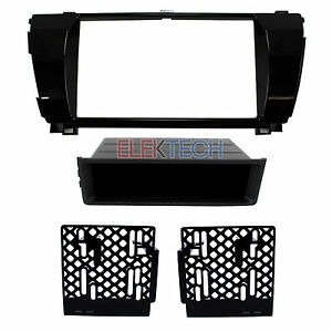 Radio-Replacement-Dash-Kit-Double-Single-DIN-Pocket-for-2014-2016-Toyota-Corolla