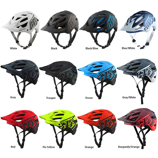 2019 TROY LEE DESIGNS TLD BLACK RED A1 DRONE MTB HELMET DH FR XC TRAIL M//L XL//2X
