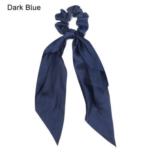 Haarband Gummibänder für Haare Elastische Haarbänder Solide Color Scrunchie