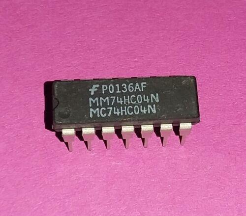 6x org Fairchild mm74hc04n mc74hc04n Inverter 6 circuits CIRCUIT NOS