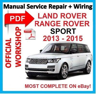 [DIAGRAM_3US]  казенной мастерская ручной сервис ремонт для Land Rover Range Rover Sport  2013-2015   eBay   2015 Range Rover Sport Wiring Diagram      eBay