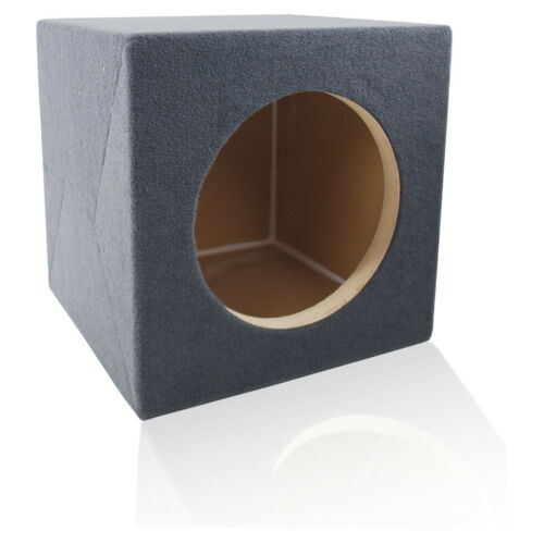 "SEALED BOX MDF SUB ENCLOSURE FOR JL AUDIO 12W7AE 12"" W7AE SUBWOOFER 12W7 W7"