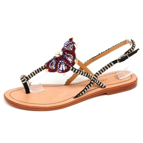 F1886 infradito donna MALIPARMI scarpe sandalo shoe flip flop woman