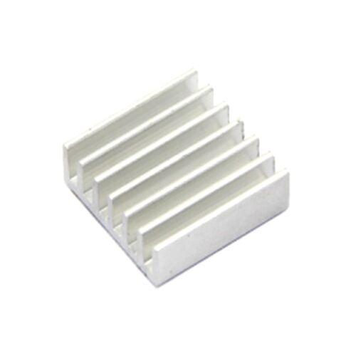 0049 Kühlkörper Aluminium 14x14x6 silber