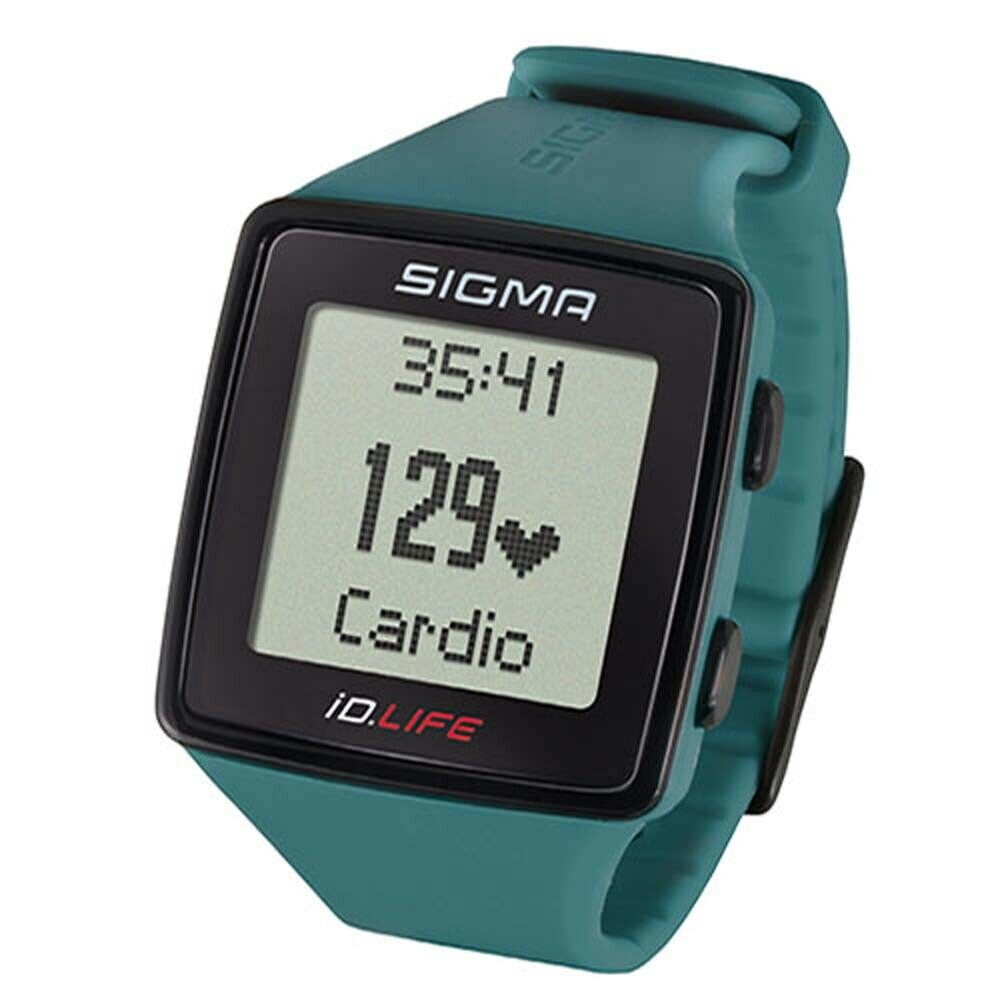 Sigma pulsuhr ID. Life activity tracker verde lima bicicleta