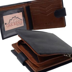 Mens-Black-and-Brown-Leather-Wallet-by-Oakridge