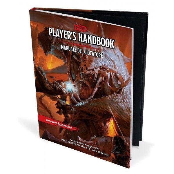Dungeons & Dragons 5a Edizione  Manuale del Giocatore 5.0 Edition D&D ITALIANO