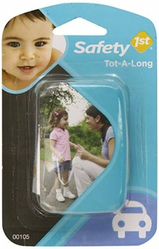 Safety 1st Tot-A-Long Toddler Child /& Kids Safety Wrist Straps Color Vary 3 Ct