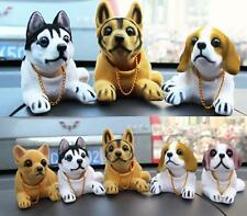 Car Styling Cute Dog Doll Shaking Head Nodding Dog For Car Decoration Ornament