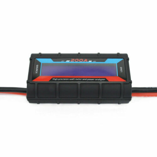 LCD 200A Leistungsanalysator Watt Meter Strom Monitor Solar Windpower Analyzer