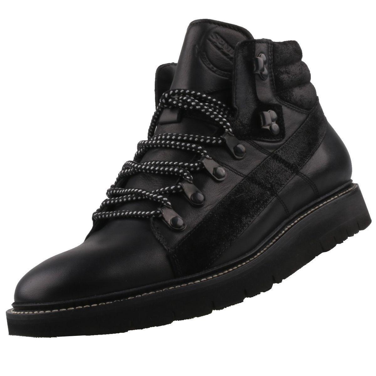 Neu SENDRA Stiefel Herrenschuhe Herren-Stiefel Stiefeletten Lederstiefel Schuhe
