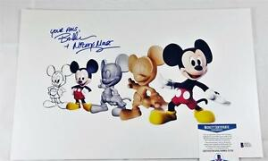 BRET-IWAN-034-MICKEY-MOUSE-034-SIGNED-METALLIC-11X17-PHOTO-DISNEY-BECKETT-BAS-COA-132
