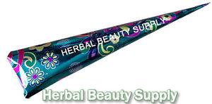 BUY-3-GET-1-FREE-Henna-Mehandi-Cone-No-Chemicals-Natural-Eucalyptus-Oil-Tattoo